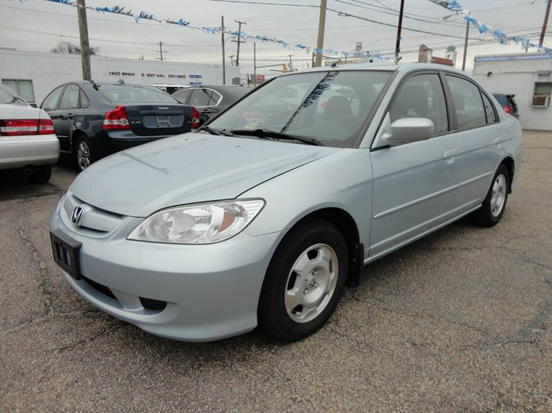 2004 honda civic hybrid 4dr sedan in richmond va