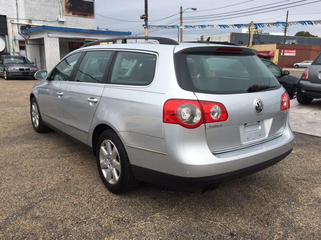 2007 Volkswagen Passat Value Edition 4dr Wagon N/A 06/06 - Richmond VA