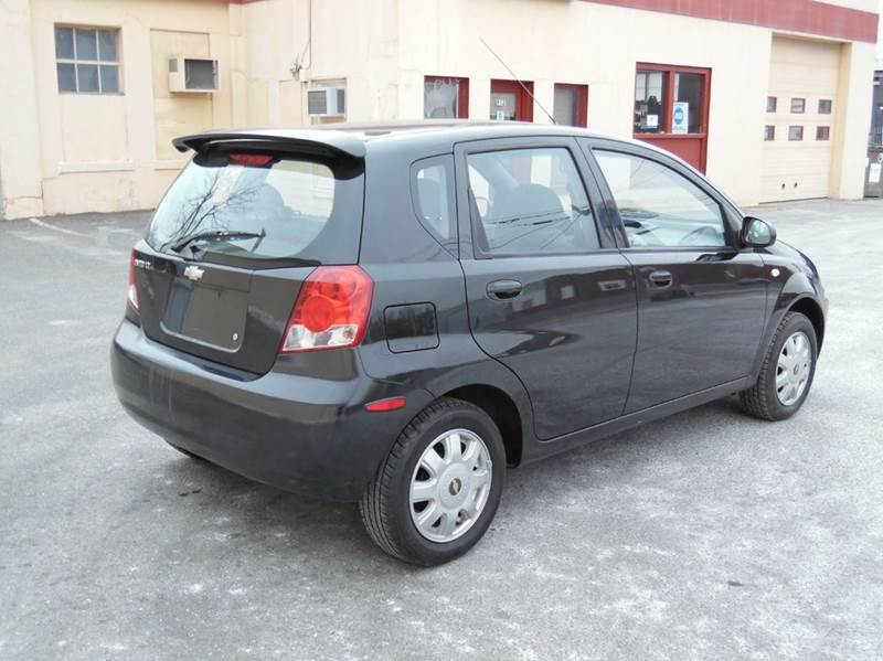 2005 chevrolet aveo lt 4dr hatchback in springfield ma. Black Bedroom Furniture Sets. Home Design Ideas