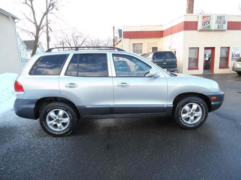 2005 hyundai santa fe gls awd 4dr suv in springfield ma nice cars llc. Black Bedroom Furniture Sets. Home Design Ideas