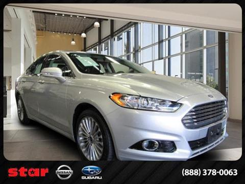 2016 Ford Fusion for sale in Bayside, NY