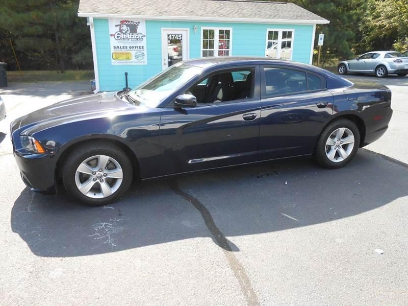 2012 dodge charger se 4dr sedan in clayton nc cavalier auto sales. Black Bedroom Furniture Sets. Home Design Ideas