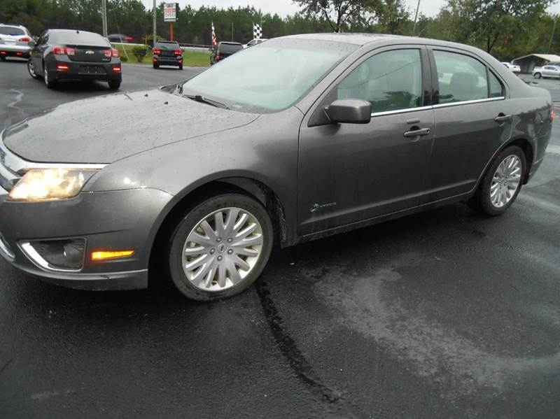 2010 ford fusion hybrid 4dr sedan in clayton nc cavalier auto sales. Black Bedroom Furniture Sets. Home Design Ideas