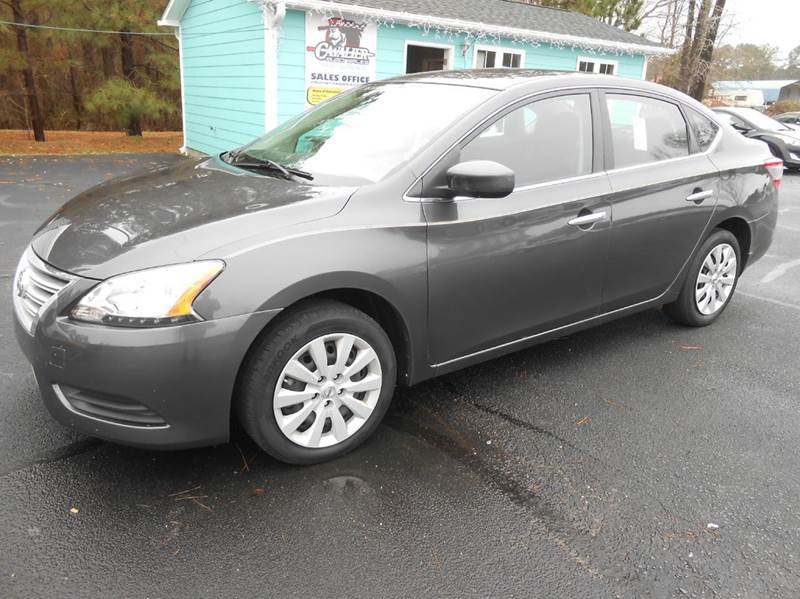 2014 nissan sentra sv 4dr sedan in clayton nc cavalier auto sales. Black Bedroom Furniture Sets. Home Design Ideas
