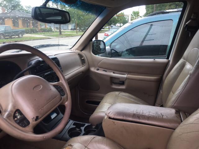 2000 Ford Explorer 4dr Eddie Bauer 4WD SUV - Florence SC
