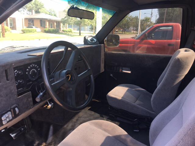 1991 Chevrolet C/K 1500 Series 2dr C1500 Scottsdale Standard Cab LB - Florence SC