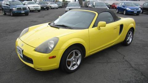 2002 Toyota MR2 Spyder for sale in Sacramento, CA