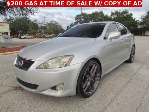 2007 Lexus IS 350 for sale in Tampa, FL