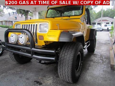 1987 Jeep Wrangler for sale in Tampa, FL