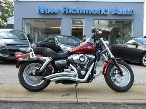 2010 Harley-Davidson Dyna Fat Bob for sale in New Richmond OH