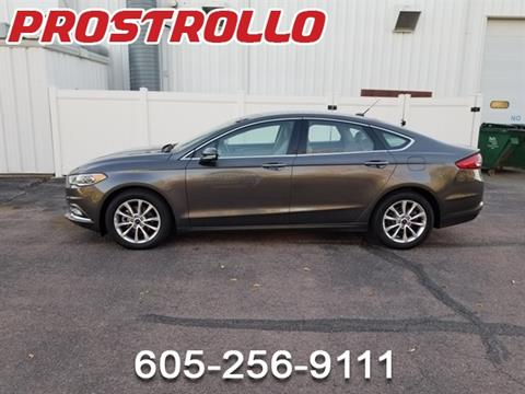 2017 Ford Fusion for sale in Madison, SD