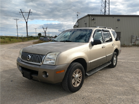 2003 Mercury Mountaineer for sale in Sterling, IL