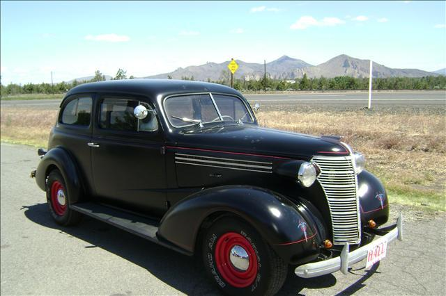 Used cars redmond classic cars for sale bend redmond hall for 1938 chevy 2 door sedan for sale