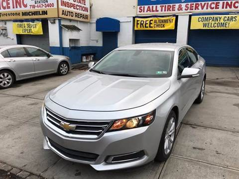 2016 Chevrolet Impala for sale in Staten Island, NY