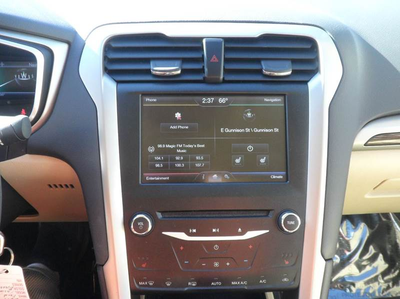 2014 Ford Fusion 1-OWNER SE 1.5L ECO BOOST 13K MILES - Colorado Springs CO