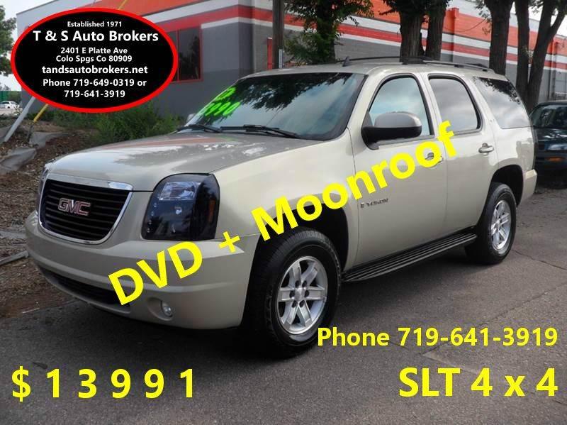 2007 GMC Yukon SLT 4x4 Moonroof DVD - Colorado Springs CO