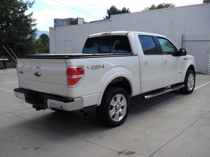 2013 Ford F-150 1-OWNER ECO BOOST 4X4 S-CREW LARIAT - Colorado Springs CO