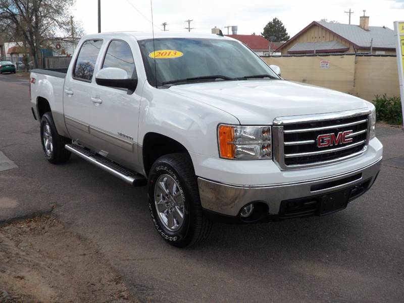 2013 GMC Sierra 1500 4x4 SLT 4dr Crew Cab 5.8 ft. SB - Colorado Springs CO