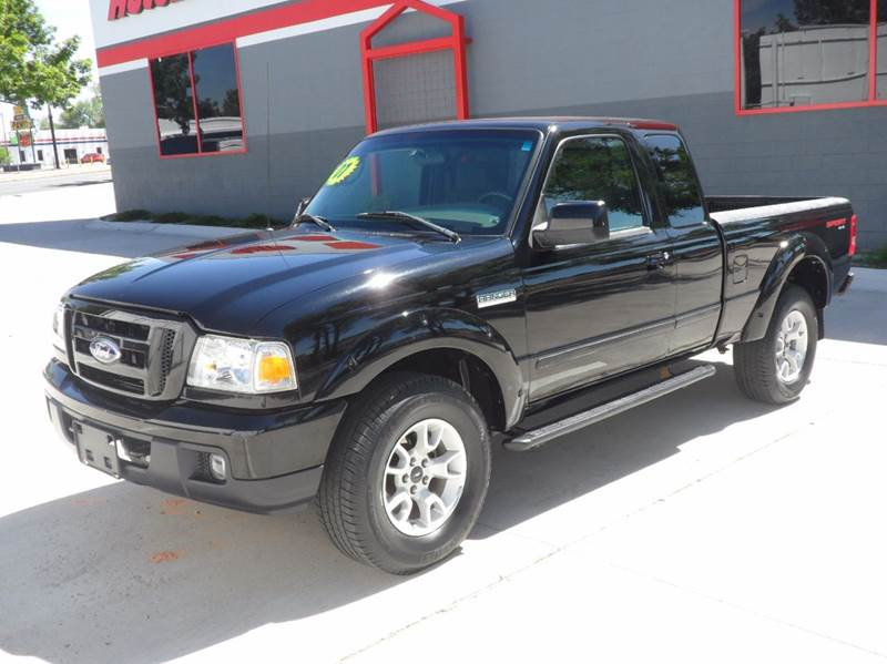 2007 Ford Ranger Sport 4x4 SUPER CAB Manual - Colorado Springs CO