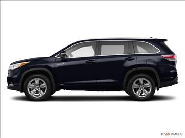 2016 Toyota Highlander Hybrid for sale in Dorchester MA