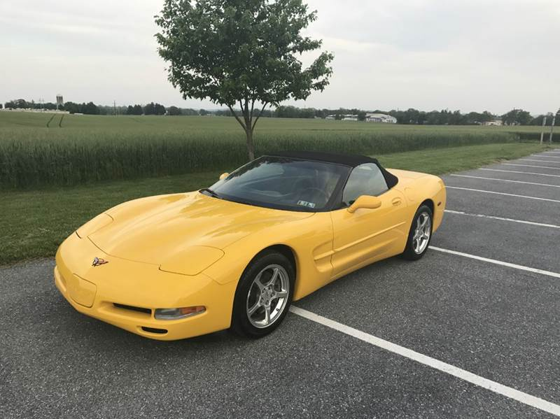 2001 Chevrolet Corvette 2dr Convertible - Mount Joy PA