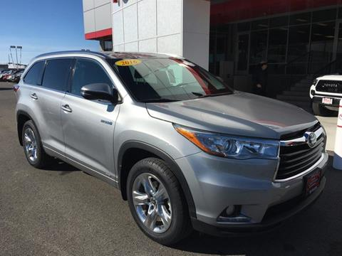 Used Toyota Highlander Hybrid For Sale In Idaho Carsforsale Com