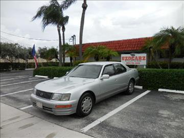 1996 Lexus Ls 400 For Sale