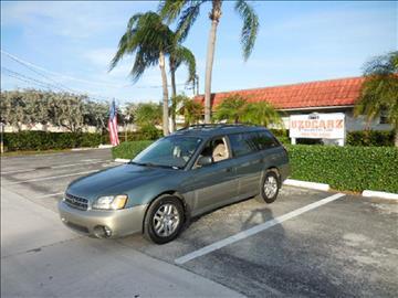 2002 Subaru Outback for sale in Pompano Beach, FL