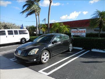 2006 Nissan Maxima for sale in Pompano Beach, FL