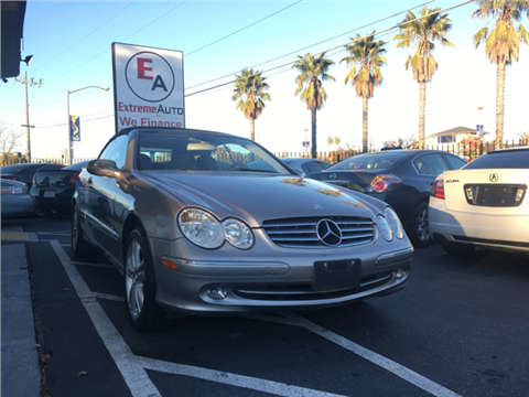 mercedes benz clk for sale sacramento ca