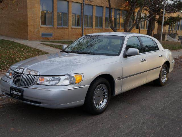 1998 lincoln town car cartier 4dr sedan in englewood fort for 1998 lincoln town car motor