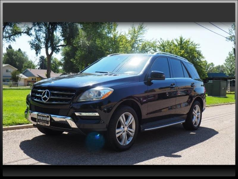 2012 mercedes benz m class awd ml 350 4matic 4dr suv in for Mercedes benz englewood service