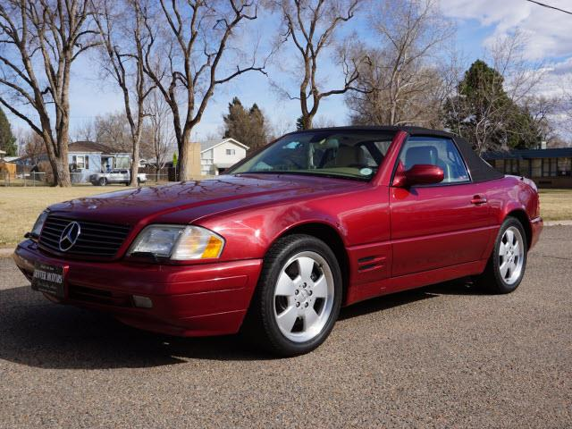 1999 mercedes benz sl class sl 500 2dr convertible in for Mercedes benz englewood service