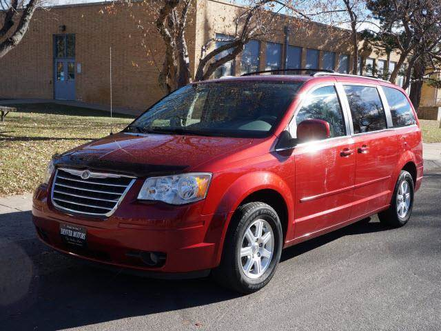2008 chrysler town and country touring mini van passenger for sale in englewood fort collins. Black Bedroom Furniture Sets. Home Design Ideas