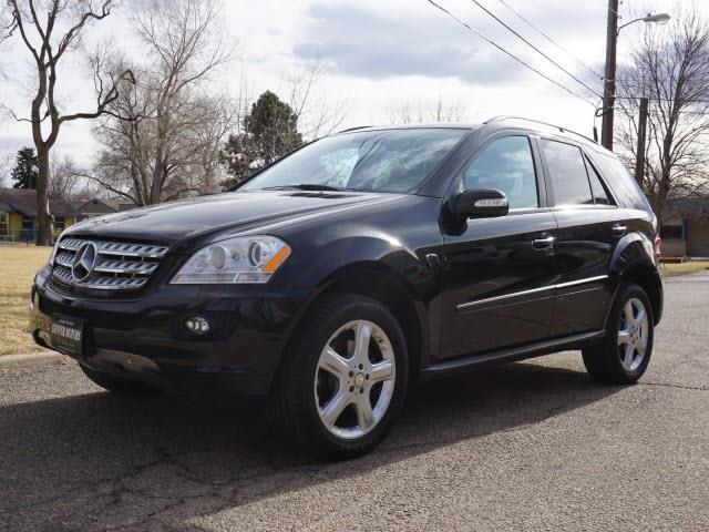 2008 mercedes benz m class ml 350 awd 4matic 4dr suv in for Mercedes benz englewood service