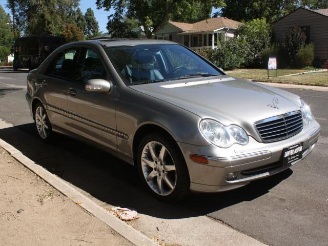 2003 mercedes benz c class c230 kompressor 4dr sedan for