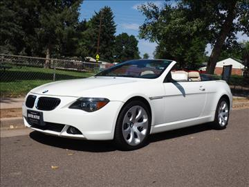2004 BMW 6 Series For Sale  Carsforsalecom