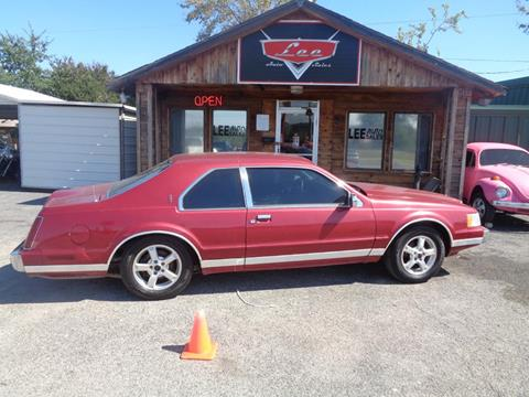 1990 Lincoln Mark VII for sale in Mcalester, OK