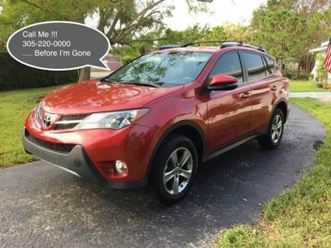 2015 Toyota RAV4 for sale in Pls. Call 305-220-0000, FL