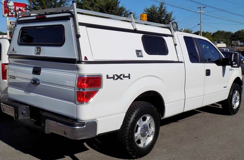 2012 Ford F 150 4x4 Supercab Styleside Loaded Great Work