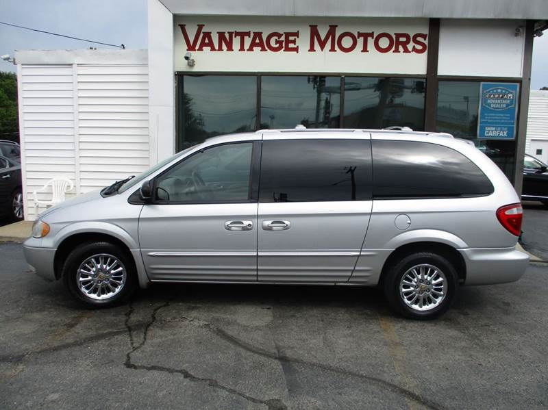 2002 chrysler town and country awd limited 4dr extended mini van in raytown mo vantage motors llc. Black Bedroom Furniture Sets. Home Design Ideas