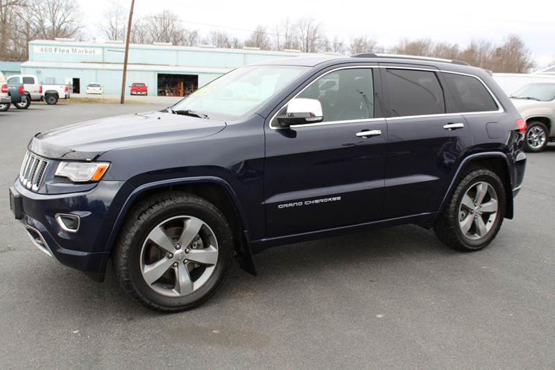2014 jeep grand cherokee overland 4x4 4dr suv in for M and m motors appomattox