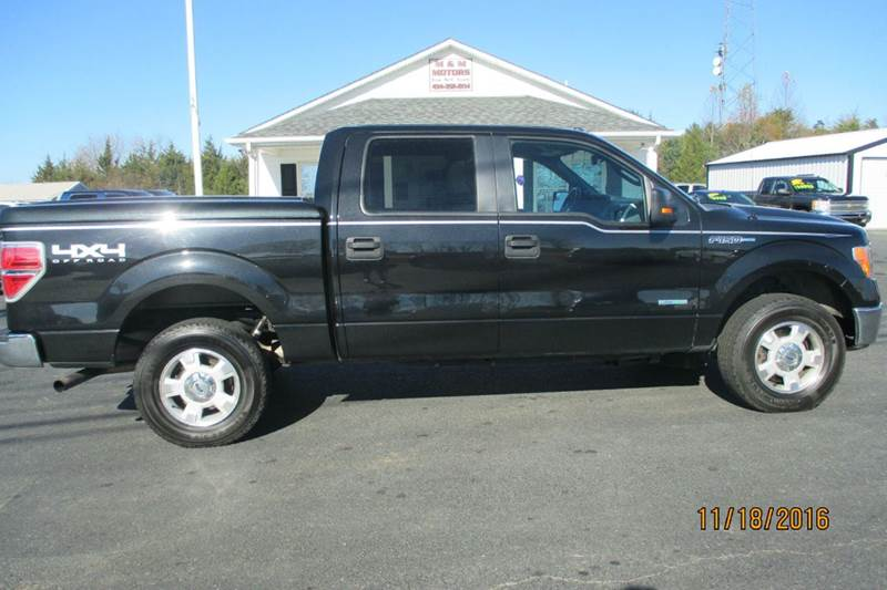 2013 ford f 150 4x4 xlt 4dr supercrew styleside 5 5 ft sb