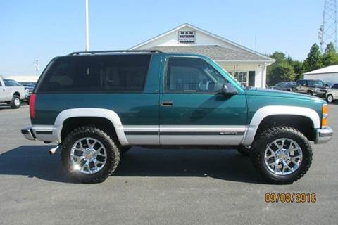 1996 chevrolet tahoe for sale reno nv for M and m motors appomattox