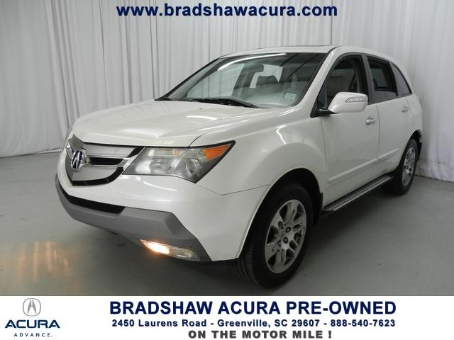 used 2009 acura mdx base awd 4dr suv in greenville sc at. Black Bedroom Furniture Sets. Home Design Ideas
