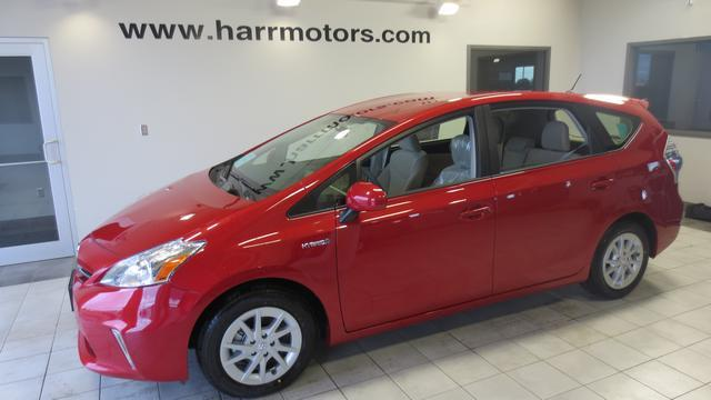 New 2013 Toyota Prius V Two In Aberdeen Sd At Harr Motors