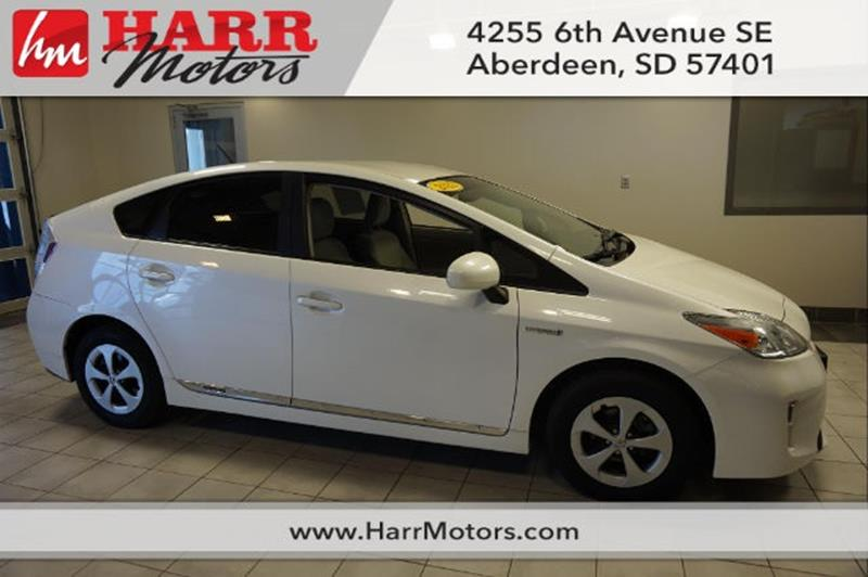 Used Toyota Prius For Sale In Aberdeen Sd