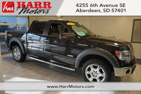 2014 ford f 150 for sale in aberdeen sd for Harr motors used cars