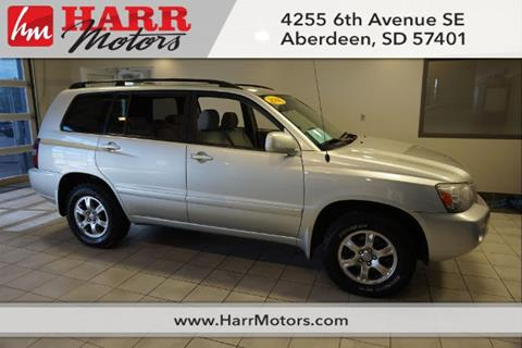 2006 Toyota Highlander for sale in Aberdeen, SD