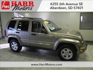 Jeep liberty for sale south dakota for Harr motors used cars